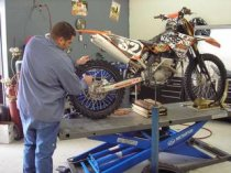 Buying used motorcycles for repair