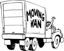 Estimating costs for a moving van