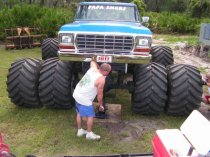 Pimping a monster truck