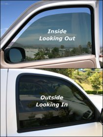 About the tinting of car windows