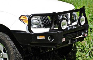 Xenon headlights used for outside the road