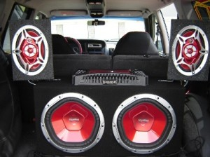 Install a car audio system
