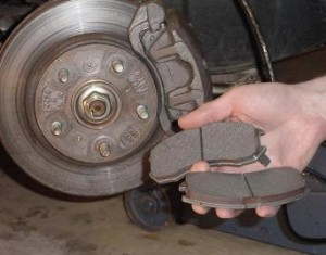 Brake pads changing