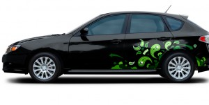 Use vinyl decals to refresh your car's look.