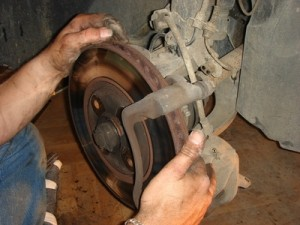Some advice in changing the brake shoes of your Ford Focus