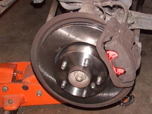 Learn to change the brake shoes