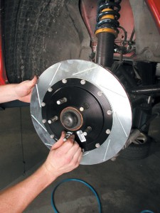 Know to adjust the car's air brakes