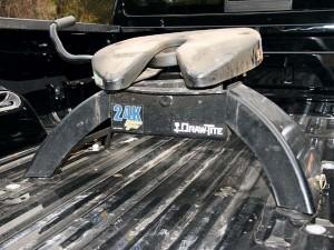 Imparare a installare un intoppo 5 ruota di un camion