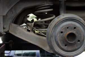 Learn to replace old drum brakes