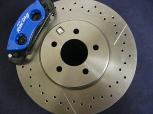 Switch from drum brakes to disc brakes