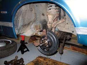 Convert your Chevy's drum brakes to disc brakes