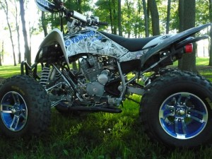 Learn to customize ATVs and 4×4 trucks