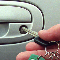 Understand the car door lock mechanism